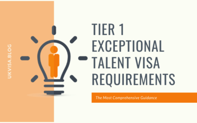 A Guide to PBS Tier 1 Exceptional Talent Visa Requirements 2019