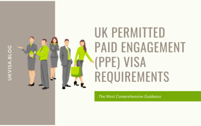 A Guide to UK Permitted Paid Engagement (PPE) Visa Requirements