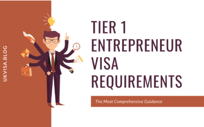 Tier 1 Entrepreneur Visa Policy Guidance after March 29, 2019