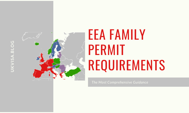 EEA Family Permit Application Guidance and Requirements 2020