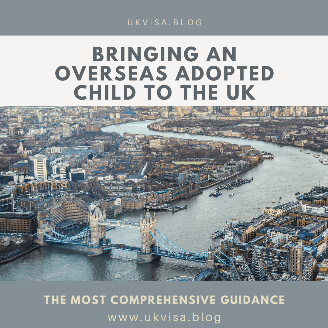 Bringing an Overseas Adopted Child to the UK