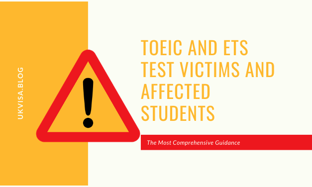 A Note on TOEIC and ETS Test Victims and Affected Students