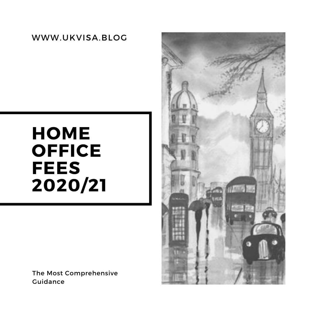 Home Office Indefinite Leave to Remain (ILR) Fee 2020/21
