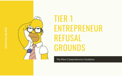Tier 1 Entrepreneur Refusal Grounds and Rejection Reasons