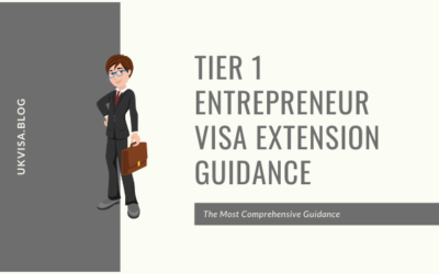 Tier 1 Entrepreneur Visa Extension Policy Guidance New Rules 2019